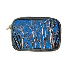 Trees On Blue Sky Ultra Compact Camera Case by Elanga