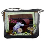 Frog lovers messenger Bag