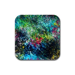 Raw Truth By Mystikka  4 Pack Rubber Drinks Coaster (square)