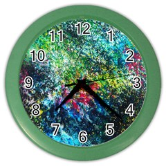 Raw Truth By Mystikka  Colored Wall Clock by mjade