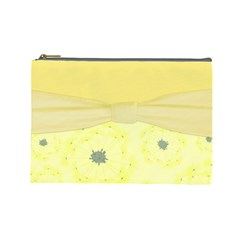 Large Bag Dandelions By Emily   Cosmetic Bag (large)   Xc5siklzqgvi   Www Artscow Com Front