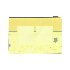 Large Bag Dandelions By Emily   Cosmetic Bag (large)   Xc5siklzqgvi   Www Artscow Com Back