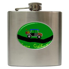 Gone Golfin Hip Flask by golforever12