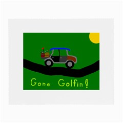 Gone Golfin Twin Sided Glasses Cleaning Cloth by golforever12