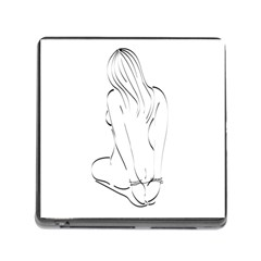 Bound Beauty Card Reader With Storage (square) by Deviantly