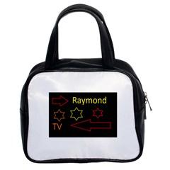Raymond Tv Twin-sided Satchel Handbag by hffmnwhly