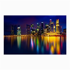 Night View 20  X 24  Unframed Canvas Print by Unique1Stop