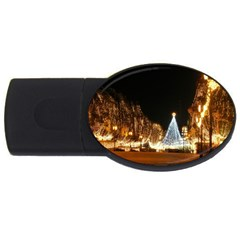 Christmas Deco 4Gb USB Flash Drive (Oval) by Unique1Stop