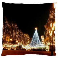 Christmas Deco Large Cushion Case (two Sides) by Unique1Stop