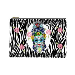 Makeup By Roxi   Cosmetic Bag (large)   W7wzdx4qevw0   Www Artscow Com Front