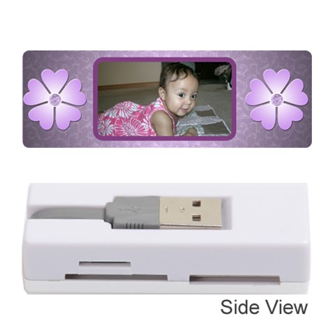 Baby Memory  Card Reader By Angeye   Memory Card Reader (stick)   5f1i74l06gtn   Www Artscow Com Front