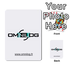 Omnilog By Gilles Daigmorte   Multi Purpose Cards (rectangle)   Yt58owvzew8v   Www Artscow Com Front 27