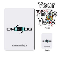 Omnilog By Gilles Daigmorte   Multi Purpose Cards (rectangle)   Yt58owvzew8v   Www Artscow Com Front 29