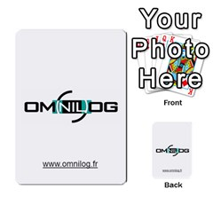 Omnilog By Gilles Daigmorte   Multi Purpose Cards (rectangle)   Yt58owvzew8v   Www Artscow Com Front 34