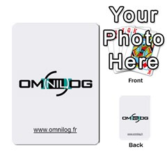 Omnilog By Gilles Daigmorte   Multi Purpose Cards (rectangle)   Yt58owvzew8v   Www Artscow Com Front 36