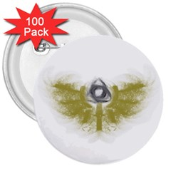 3dsb 3  Button (100 Pack)