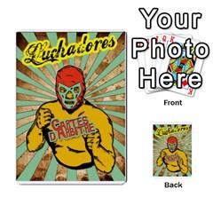 Lucha Cartas Arbitrage Manoeuvres X2 Bonus By Gabzeta   Multi Purpose Cards (rectangle)   Sndm3850z8g2   Www Artscow Com Back 10