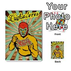Lucha Cartas Arbitrage Manoeuvres X2 Bonus By Gabzeta   Multi Purpose Cards (rectangle)   Sndm3850z8g2   Www Artscow Com Back 17