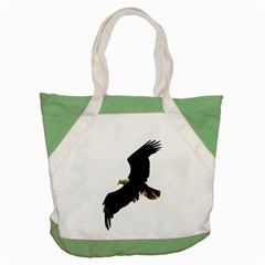 Landing Eagle I Accent Tote Bag by OnlineShoppers
