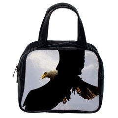 Landing Eagle I Classic Handbag (one Side) by OnlineShoppers