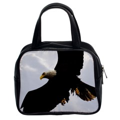 Landing Eagle I Classic Handbag (two Sides) by OnlineShoppers