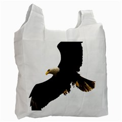 Landing Eagle I Recycle Bag (one Side) by OnlineShoppers
