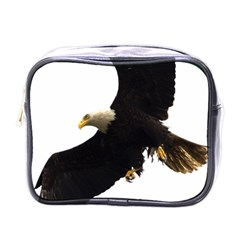 Landing Eagle I Mini Travel Toiletry Bag (one Side) by OnlineShoppers