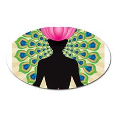 Me & Nirvana Magnet (oval) by NIRVANA