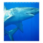 Shark Shower Curtain - Shower Curtain 66  x 72  (Large)