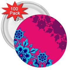 4 3  Button (100 Pack)