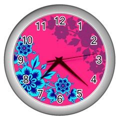 4 Wall Clock (silver) by fatfatiya