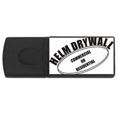 Helm Drywall 4GB USB Flash Drive (Rectangle) by helmdrywall