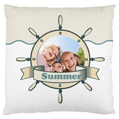 Summer By Summer Time    Large Cushion Case (two Sides)   Cr339fwj0ja3   Www Artscow Com Front
