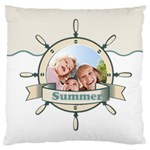 summer - Large Cushion Case (Two Sides)