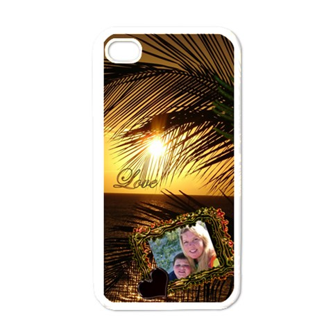 J By Eleanor Norsworthy   Apple Iphone 4 Case (white)   Qk9yeajz3drr   Www Artscow Com Front