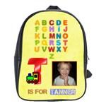 ABC XL school bag for boys or girls. - School Bag (XL)