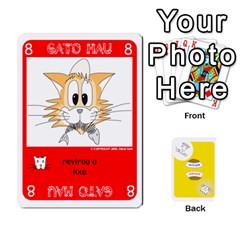 Gato Bom Gato Mau By Alan Romaniuc   Playing Cards 54 Designs   Romh4c1ygh4o   Www Artscow Com Front - Diamond10