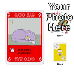 Jack Gato Bom Gato Mau By Alan Romaniuc   Playing Cards 54 Designs   Romh4c1ygh4o   Www Artscow Com Front - DiamondJ