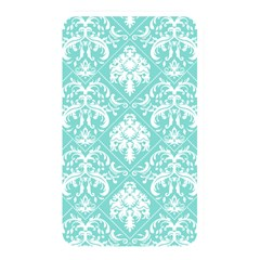 Tiffany Blue And White Damask Memory Card Reader (rectangular) by eatlovepray