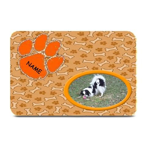 Doggie Food Mat 3 By Joy Johns   Plate Mat   Bpddb1he54h2   Www Artscow Com 18 x12 Plate Mat - 1
