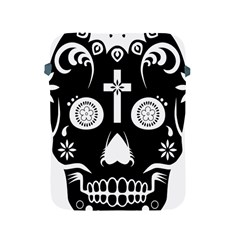 Sugar Skull Apple Ipad 2/3/4 Protective Soft Case by asyrum