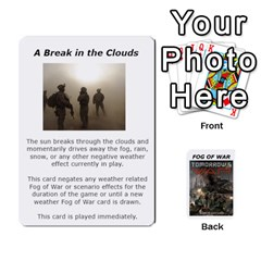 Fog Of War Cards  Tomorrow s War 1 By Fred   Playing Cards 54 Designs   Mpqsuqjtv5xk   Www Artscow Com Front - Club2