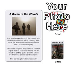 Fog Of War Cards  Tomorrow s War 1 By Fred   Playing Cards 54 Designs   Mpqsuqjtv5xk   Www Artscow Com Front - Club3