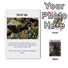 Fog Of War Cards  Tomorrow s War 1 By Fred   Playing Cards 54 Designs   Mpqsuqjtv5xk   Www Artscow Com Front - Club10