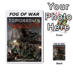 Fog Of War Cards  Tomorrow s War 1 By Fred   Playing Cards 54 Designs   Mpqsuqjtv5xk   Www Artscow Com Back