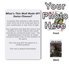 Fog Of War Cards  Tomorrow s War 2 By Fred   Playing Cards 54 Designs   L8pmens6p9nc   Www Artscow Com Front - Heart8