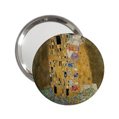 Klimt   The Kiss Handbag Mirror (2 25 ) by ArtMuseum