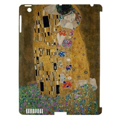Klimt - The Kiss Apple iPad 3/4 Hardshell Case (Compatible with Smart Cover) by ArtMuseum