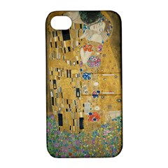 Klimt   The Kiss Apple Iphone 4/4s Hardshell Case With Stand by ArtMuseum