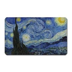 Starry night Magnet (Rectangular) by ArtMuseum